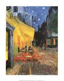 Terrasse de Cafe la Nuit night POSTER Vincent Van Gogh Posters
