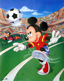Mickey Mouse Soccer Posters