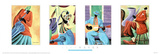 Ivey Hayes Jazz Quartet Art Print Poster Poster