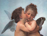 William Bouguereau (The First Kiss, Close Up) Art Poster Print Prints
