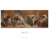 Friso de bailarinas Pósters por Edgar Degas