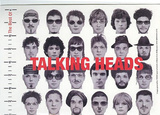 The Best Of Talking Heads (Album) Music Postcard Prints
