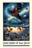 Chris Lassen (Sorcerer of the Seas) Art Poster Print Prints