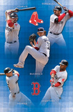 Boston Red Sox 2011 Youkilis Gonzalez Buchholz Crawford Pedroia Sports Poster Print Posters