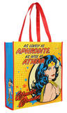 Wonder Woman Aphrodite Athena Large Recycled Shopper Tote Bag
