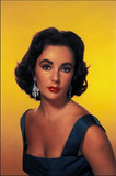 Elizabeth Taylor Movie Postcard Photo