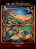 Jessel Miller Original 2000 Napa Valley Mustard Festival Art Print Poster Prints