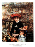 Two Sisters on the Terrace Prints by Pierre-Auguste Renoir