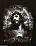 King of Kings (Jesus Christ, B&W) Art Poster Print Posters