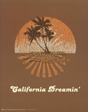 The Mamas and the Papas (California Dreamin' Lyrics) Music Poster Print Plakat