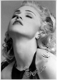 Madonna (Erotica Madonna) Music Postcard Posters