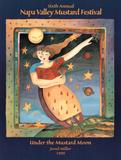 Jessel Miller Original 1999 Napa Valley Mustard Festival Art Print Poster Poster
