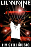 Lil Wayne I'm Still Music White T-Shirt Music Poster Print Prints