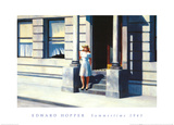 Summertime, c.1943 Plakater af Edward Hopper