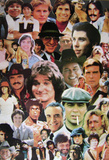 1970's Celebrity Collage (Men of the 70's) Art Poster Print Prints