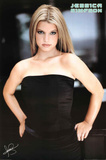 Jessica Simpson Black Dress Music Poster Print Posters