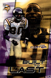 Minnesota Vikings Cris Carter Sports Poster Print Posters