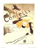 Henri de Toulouse-Lautrec (Confetti) Art Poster Print Posters