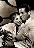 Casablanca Movie (Humphrey Bogart and Ingrid Bergman) Poster Print Pôsters