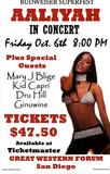 Aaliyah (Budweiser Superfest, Concert) Music Poster Print Masterprint