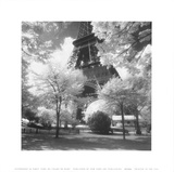 Eiffel Tower (Afternoon in Paris) Poster