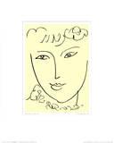 La Pompadour, vers 1951 Posters par Henri Matisse