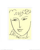 La Pompadour, c.1951 Prints by Henri Matisse