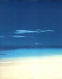 Chris Simpson Barbuda Beach Art Print Poster Prints