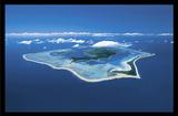 Bora Bora (Island) Art Poster Print Prints