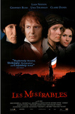 Les Miserables Movie Liam Neeson Geoffrey Rush Uma Thurman Claire Danes Original Poster Print Print