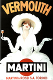 Marcello Dudovich Vermouth Martini and Rossi Art Print Poster Posters