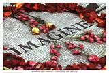 Imagine (Strawberry Fields John Lennon Memorial) Art Poster Print Foto