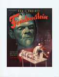 Frankenstein Movie Boris Karloff Poster