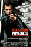 Payback Movie Mel Gibson Original Poster Print Poster