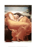 Flaming June Prints by Frederick Leighton