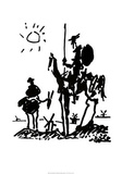 Don Quijote Poster von Pablo Picasso