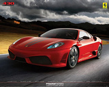 Ferrari - 430 Scuderia, Art Poster Print Prints