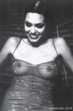 Angelina Jolie Movie (See-Through Top) Poster Print Print