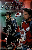 Colorado Avalanche Peter Forsberg Sports Poster Print Poster