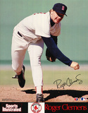 Boston Red Sox (Roger Clemens, Sports Illustrated) Sports Poster Print Prints