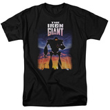 Iron Giant - Poster T-shirts