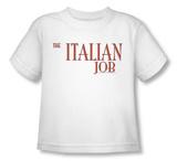 Toddler: Italian Job - Logo T-Shirt