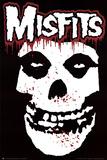 Misfits (Skull, Splatter) Music Poster Print Kunstdrucke