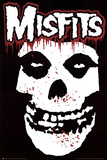 Misfits (Skull, Splatter) Music Poster Print Stampe