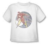 Toddler: The Flash - Retro Flash Iron On Shirts