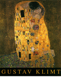Gustav Klimt (The Kiss) Art Poster Print Poster