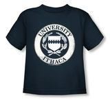 Toddler: Road Trip - University of Ithaca T-Shirt