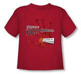 Toddler: Invasion of the Body Snatchers - Retro Poster T-shirts