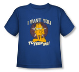 Toddler: Garfield - I Want You T-shirts