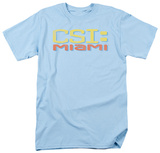 CSI Miami -Miami Distressed Logo T-shirts